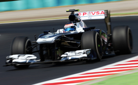 Valtteri Bottas Williams 2013 Hungarian GP