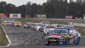 Mark Winterbottom leads Winton V8 Supercars 2013