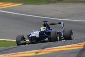 Alexander Sims, Carlin, Spa GP3 2013