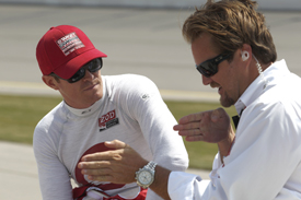 Scott Dixon and Beaux Barfield