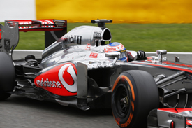 Jenson Button, McLaren, Belgian GP 2013, Spa