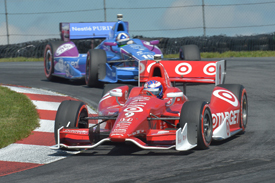 Scott Dixon and Dario Franchitti, Ganassi, Mid-Ohio IndyCar 2013