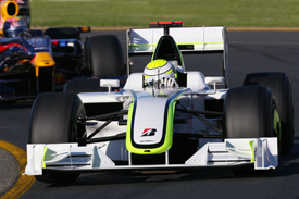 Jenson Button, Brawn, Australian GP 2009, Melbourne