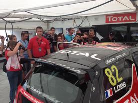 Sebastien Loeb RX car