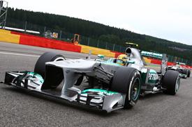 В Монце Mercedes представит новую аэродинамику W04