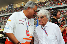 Vijay Mallya F1 Force India 2013