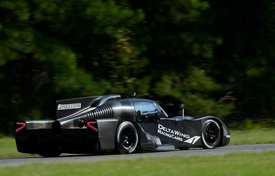 DeltaWing coupe test