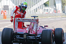 Massa under investigation for FP1 incident