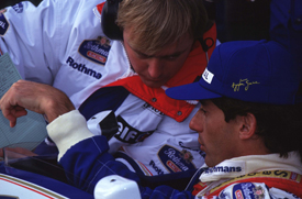 David Brown and Ayrton Senna