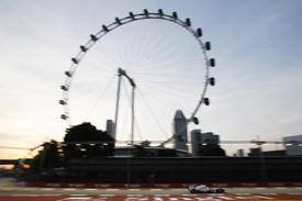 Lewis Hamilton, Mercedes, Singapore GP practice 2013