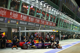 Mark Webber, Red Bull, Singapore GP 2013