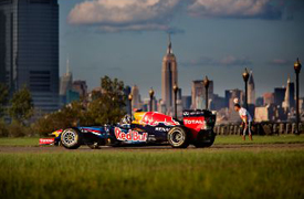 New Jersey Red Bull F1 demo