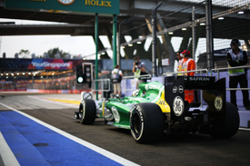Charles Pic, Caterham, Singapore GP 2013