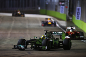 Nico Rosberg, Mercedes, Singapore GP 2013