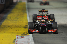 Jenson Button, McLaren, Singapore GP 2013