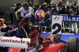 "Хэмилтон ""шокирован"" поступком Уэббера и Алонсо на Гран При Сингапура"