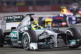 Mercedes can be proud of 2013 - Wolff