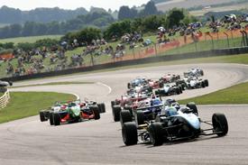 Will Buller Hitech British F3 2010 Thruxton