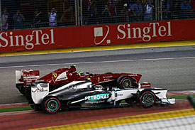 Mercedes: we must beat Ferrari to second
