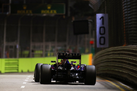 Sebastian Vettel, Red Bull, Singapore GP 2013