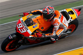 Marquez secures third consecutive pole