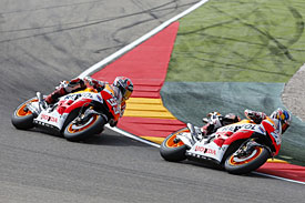 Pedrosa critical of Marquez's riding