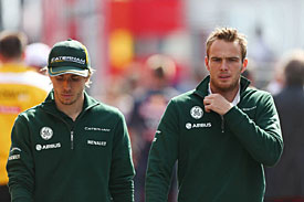 Caterham duo calm amid Kovalainen talk