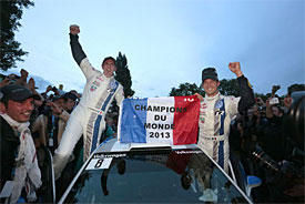 Ogier elated after securing first crown