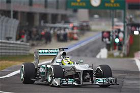 Mercedes проведет расследование поломки на машине Нико Росберга в Корее