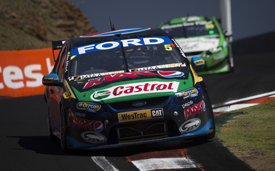 Mark Winterbottom, FPR Ford, Bathurst 2013