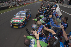 Mark Winterbottom, FPR Ford wins Bathurst 2013