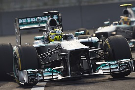 Nico Rosberg, Lewis Hamilton, Indian Grand Prix