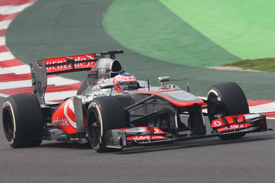 Jenson Button, McLaren, Indian GP 2013