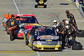 Harvick in outburst against Childress
