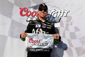 Carl Edwards takes Texas NASCAR Sprint Cup pole 2013
