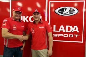 Rob Huff Lada announcement