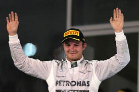 Nico Rosberg F1 Mercedes 2013