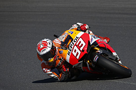 Marquez is favourite thanks to his points gap