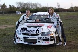 Tony Jardine and Amy Williams