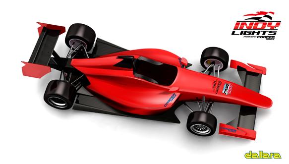 2015 Dallara Indy Lights car