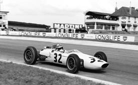 Innes Ireland, BRP, 1963 French GP