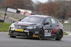 Marc Hynes, Triple Eight MG, Brands Hatch BTCC testing December 2013