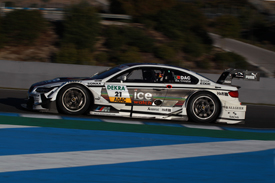 Antonio Felix da Costa BMW DTM test December 2013 Jerez