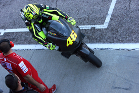 Rossi had a bad feeling from his very first test on the Ducati