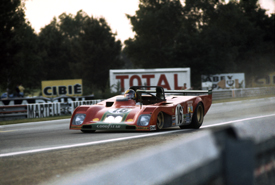 Ferrari at 1973 Le Mans 24 Hours