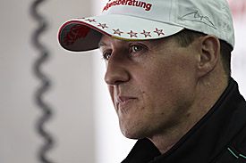Michael Schumacher, 2012