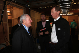 Paddy Hopkirk and Walter Rohrl