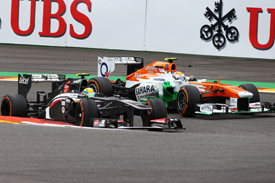 Esteban Gutierrez and Adrian Sutil