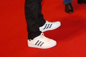 Tom Kristensen's feet