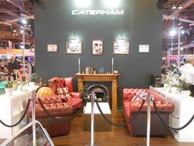 Caterham stand